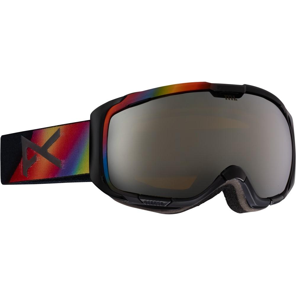 アノン メンズ スキー・スノーボード ゴーグル【M1 Goggles】Aurora/ Silver Solex And Blue Lagoon Lens