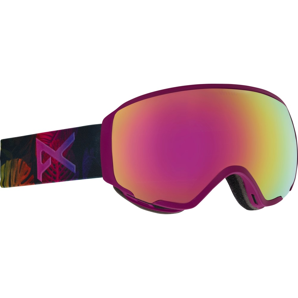 【爆買い!】 アノン レディース スキー・スノーボード ゴーグル Pink アノン【WM1 MFI Second MFI Goggles 2018】Digi Tiki/ Pink Cobalt And Blue Lagoon Lens, 山手村:13c4c490 --- canoncity.azurewebsites.net
