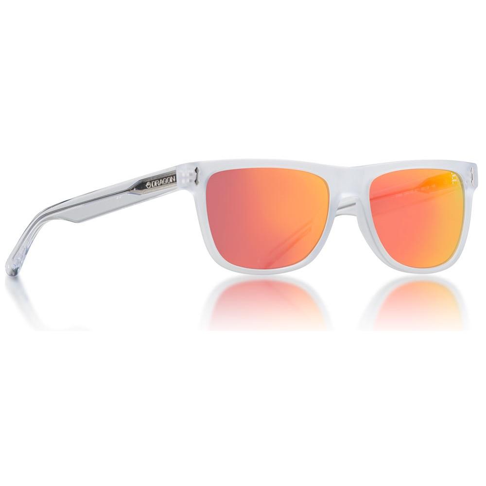 ドラゴン メンズ メガネ・サングラス【Brake Sunglasses】Matte Crystal/ Red Ion Lens
