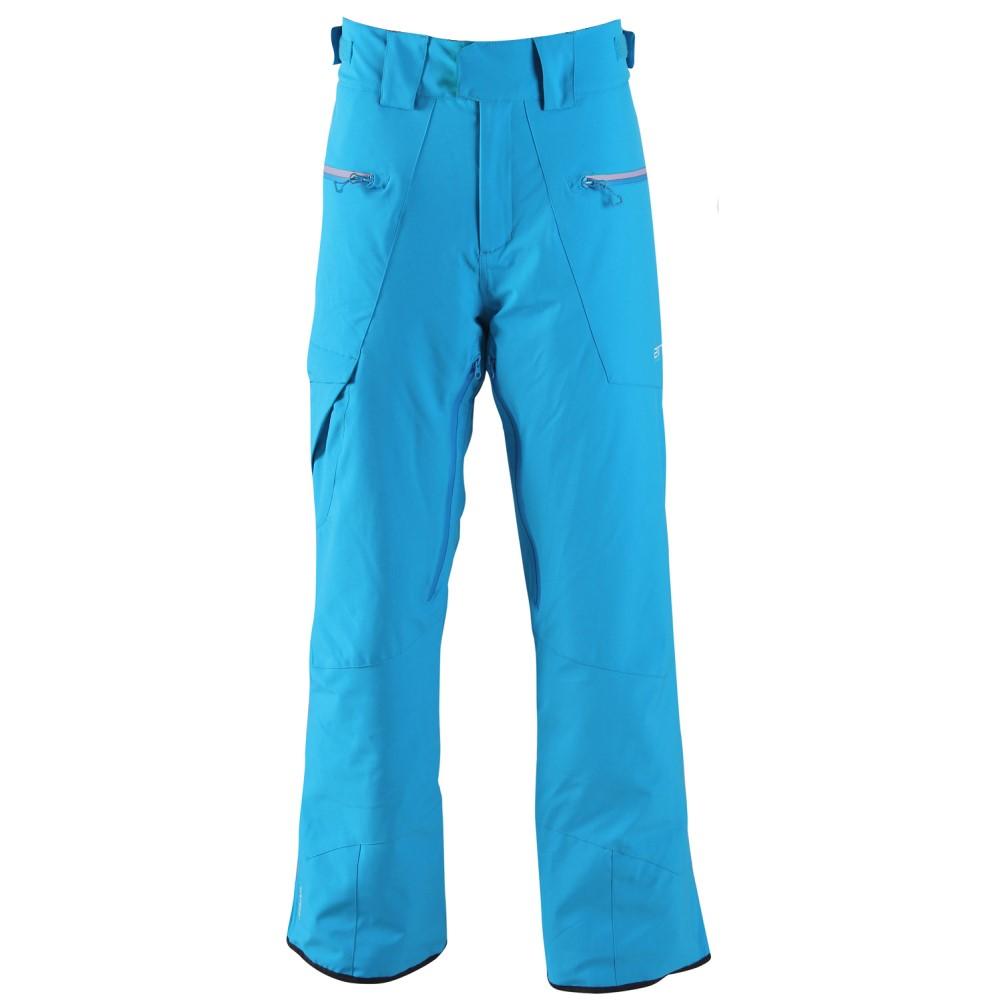 2117オブ スウェーデン メンズ スキー・スノーボード ボトムス・パンツ【Baste Eco Padded Snowboard/Ski Pants】Blue/ Sign. Green Zip