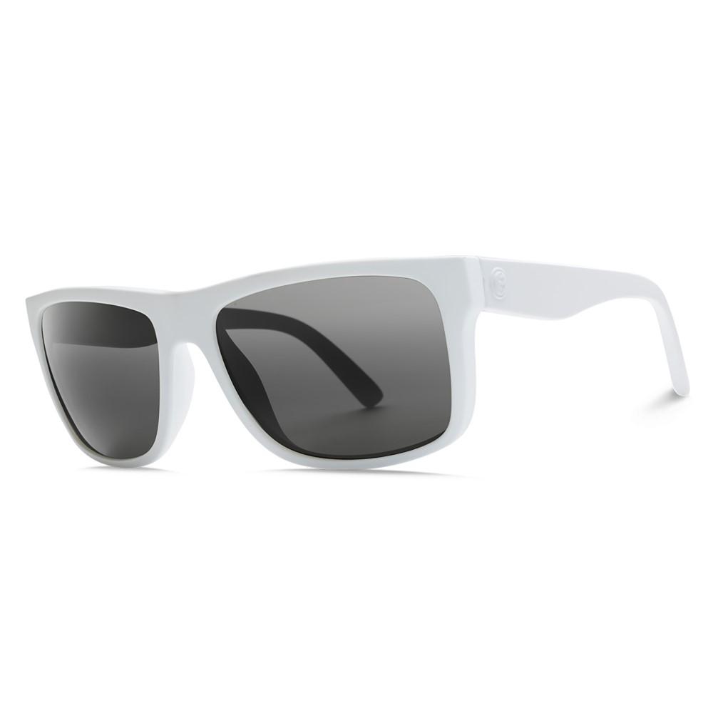エレクトリック メンズ メガネ・サングラス【Swingarm Sunglasses】Alpine White/ M Grey Lens