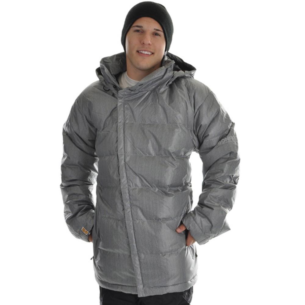 ボンファイヤー メンズ スキー・スノーボード アウター【Darka Snowboard Jacket】Silver