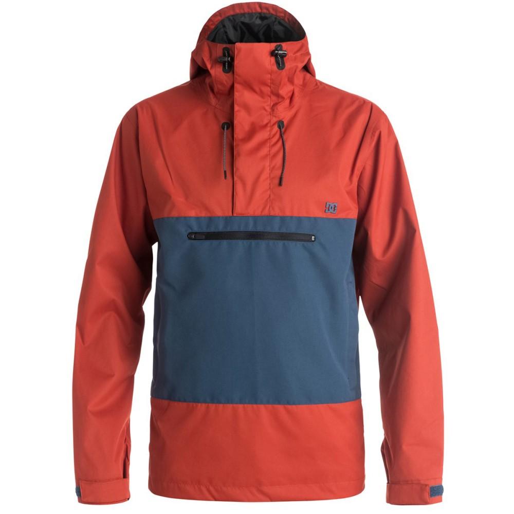 ディーシー メンズ スキー・スノーボード アウター【Rampart Anorak Snowboard Jacket】Ketchup Red