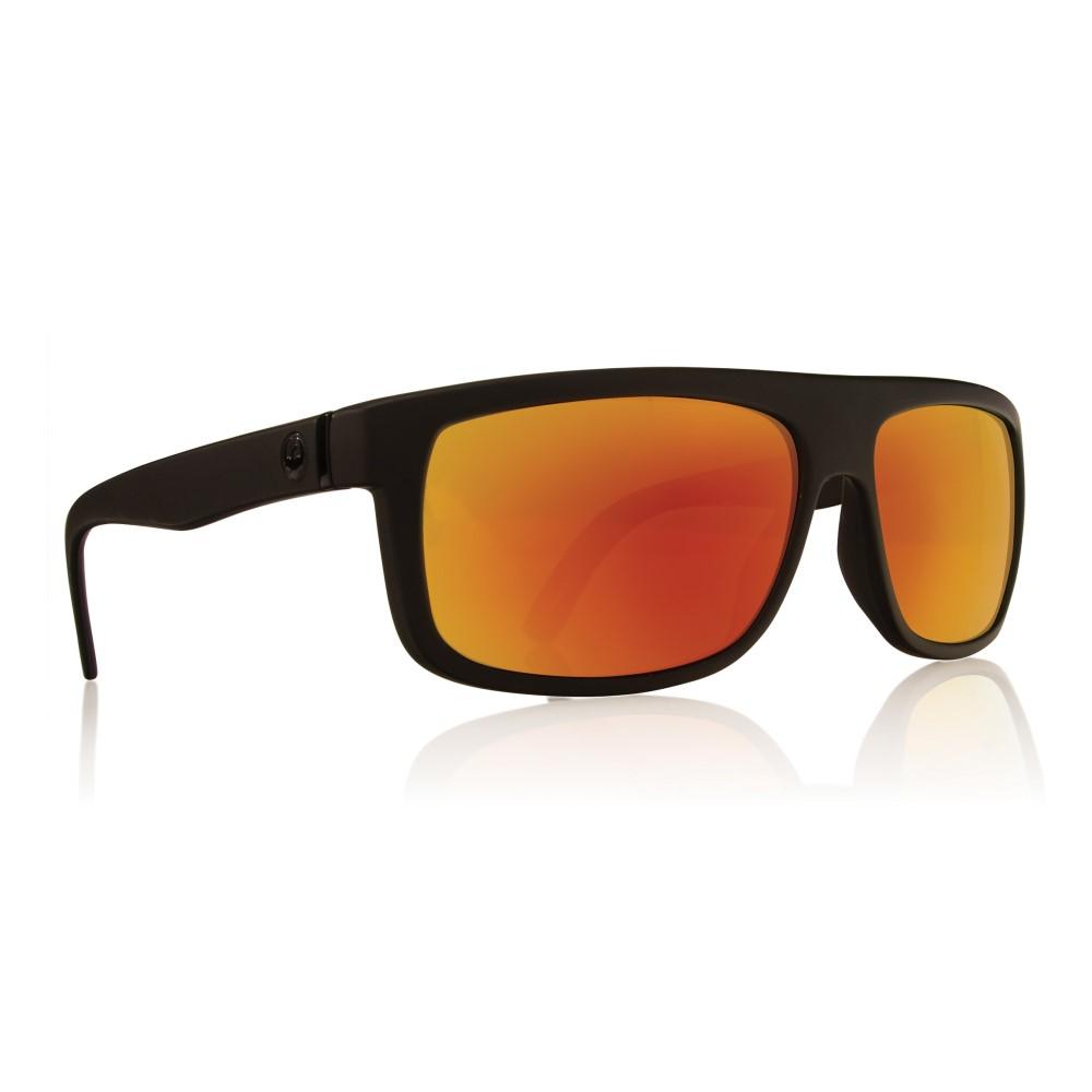 ドラゴン メンズ メガネ・サングラス【Wormser Sunglasses】Matte Black/ Red Ion Lens