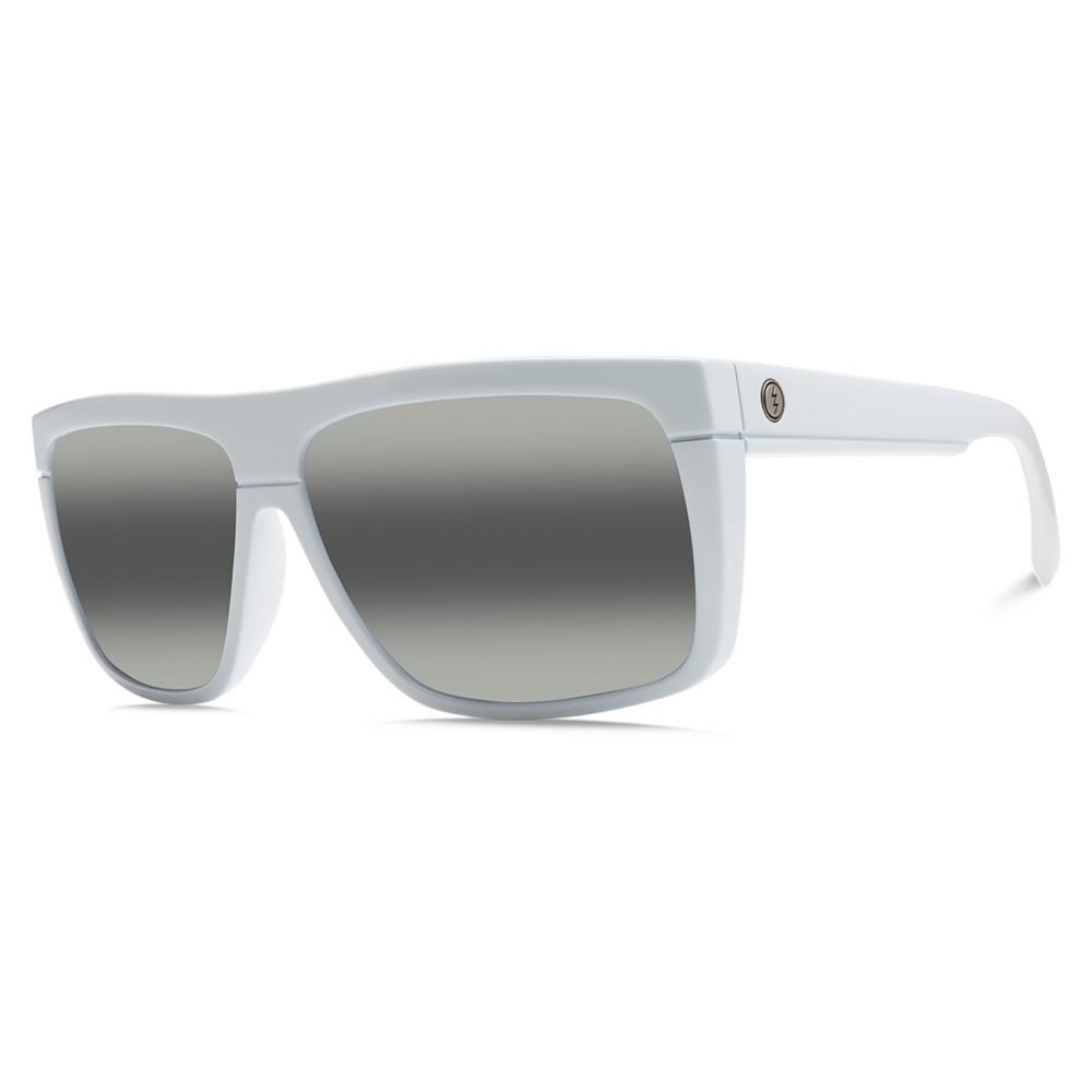 エレクトリック メンズ メガネ・サングラス【Black Top Sunglasses】Alpine White/ M Grey Bi- Gradient Lens