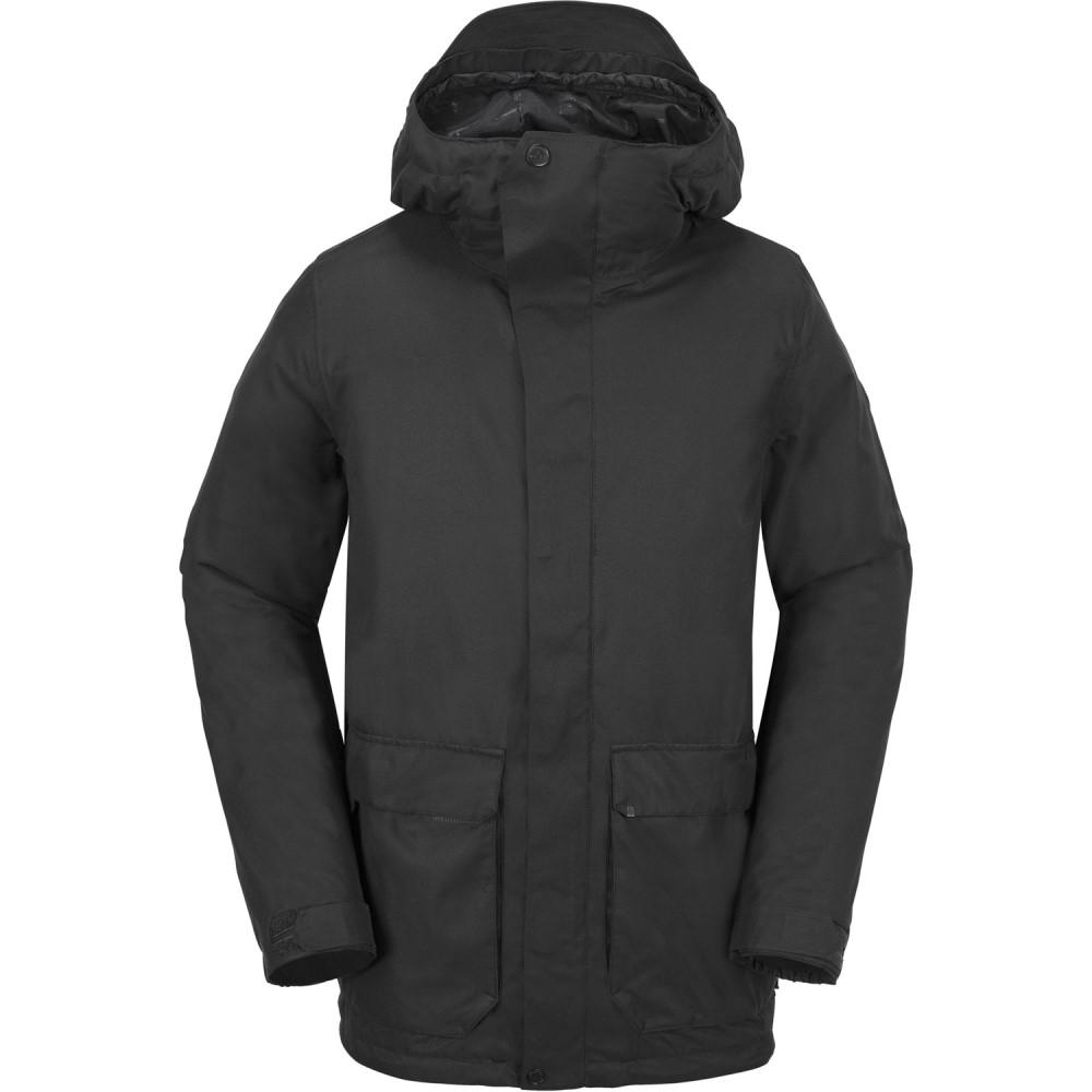 ボルコム メンズ スキー・スノーボード アウター【Utilitarian Snowboard Jacket 2018】Black