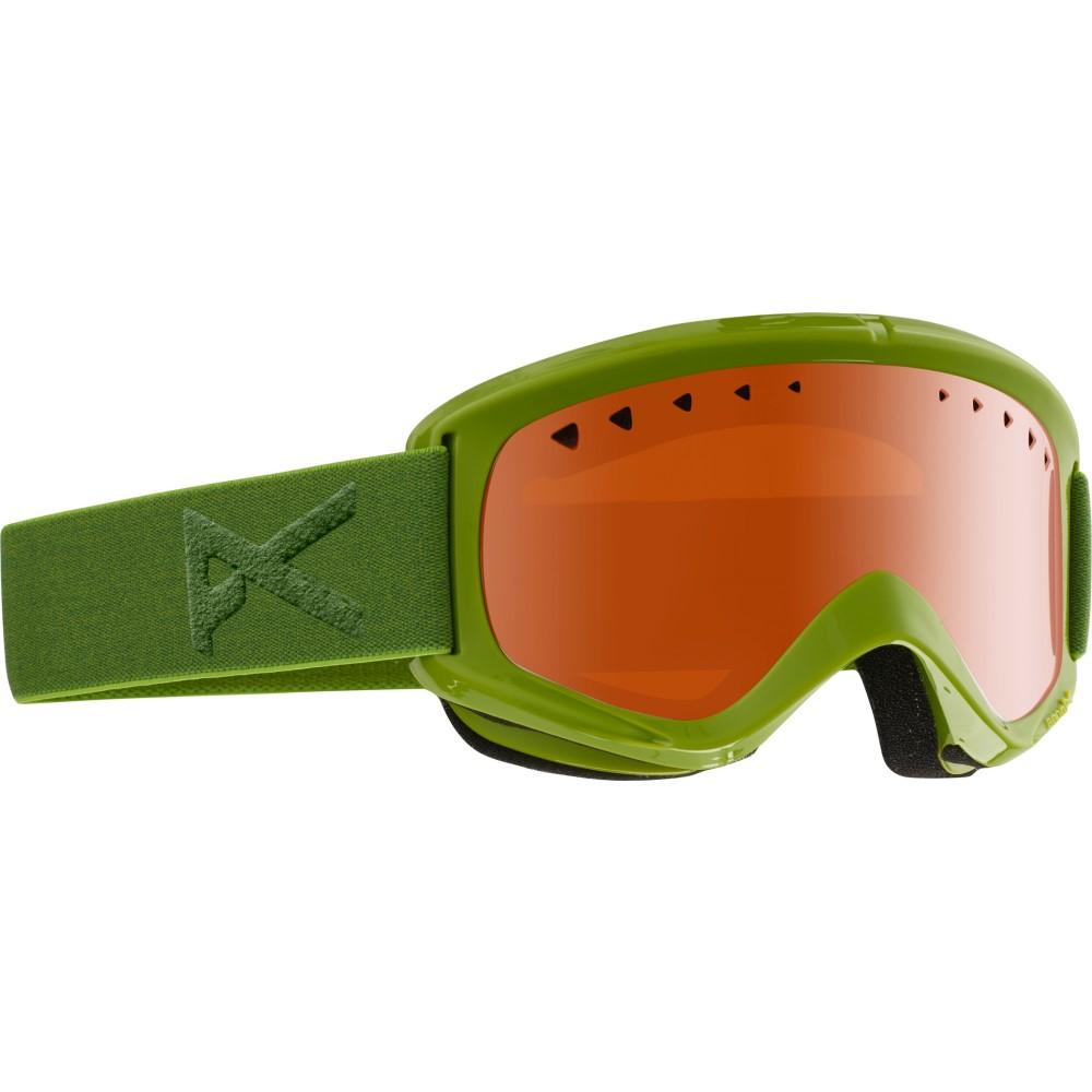 アノン メンズ スキー・スノーボード ゴーグル【Helix Goggles】Grasshole/ Silver Amber Lens