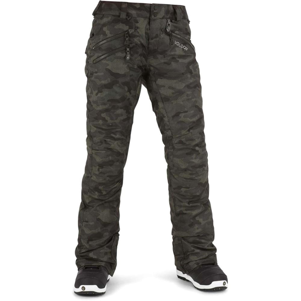 ボルコム レディース スキー・スノーボード ボトムス・パンツ【Saint Insulated Snowboard Pants】Dark Camo