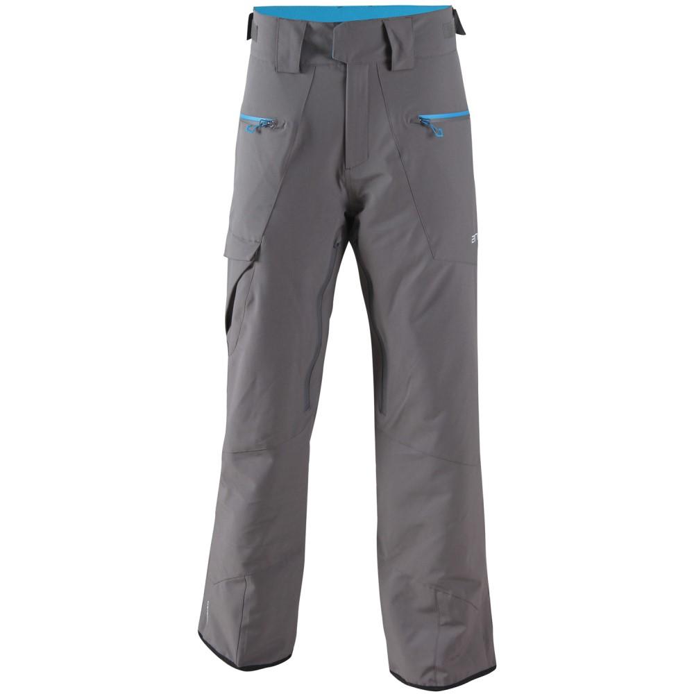2117オブ スウェーデン メンズ スキー・スノーボード ボトムス・パンツ【Baste Eco Padded Snowboard/Ski Pants】Dark Grey/ Blue Zip