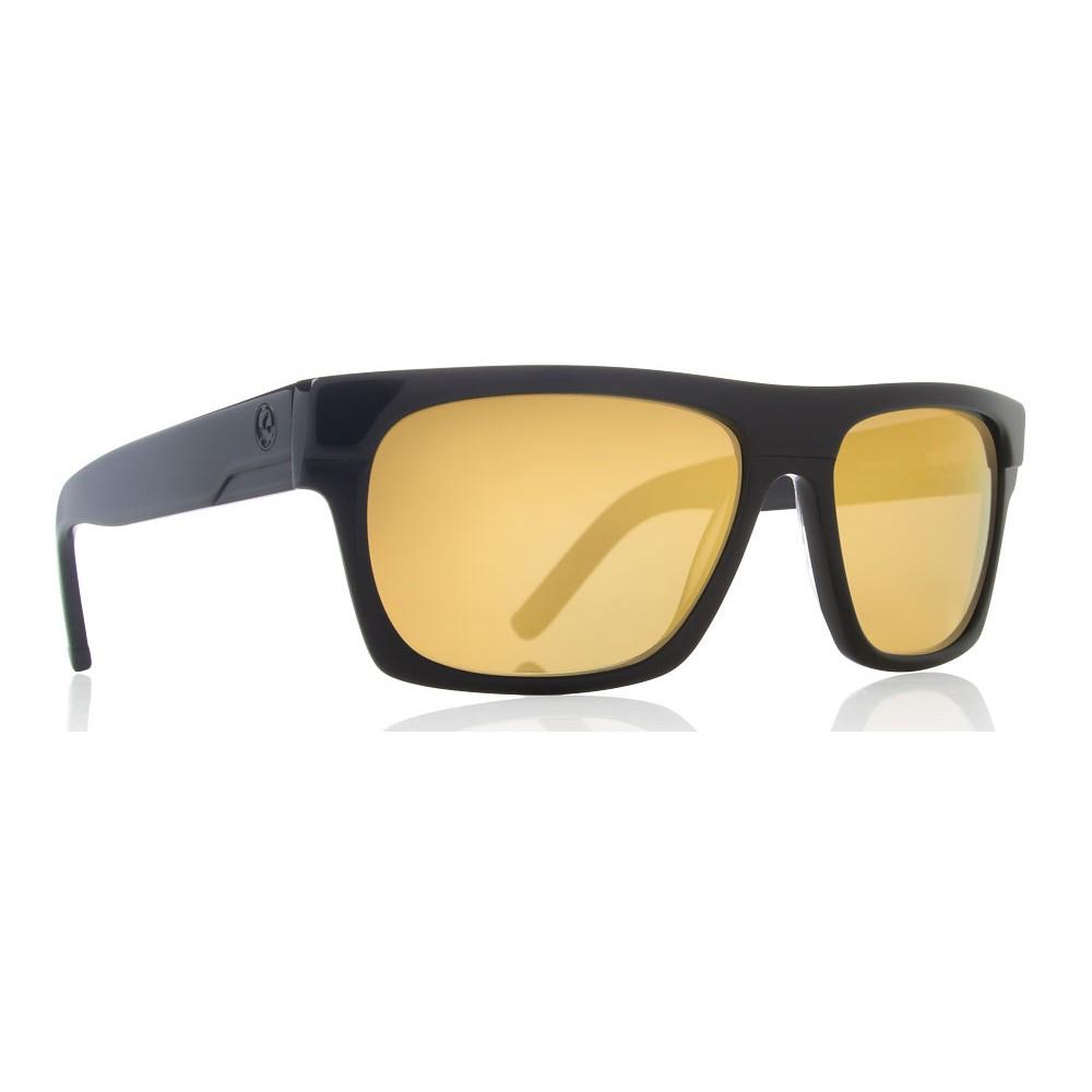 ドラゴン メンズ メガネ・サングラス【Viceroy Sunglasses】Black Gold/ Gold Ion Lens