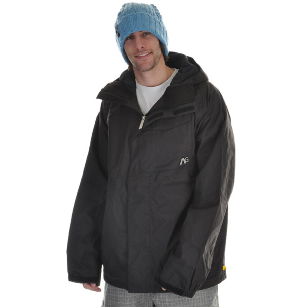 アナログ メンズ スキー・スノーボード アウター【Asset Snowboard Jacket】True Black