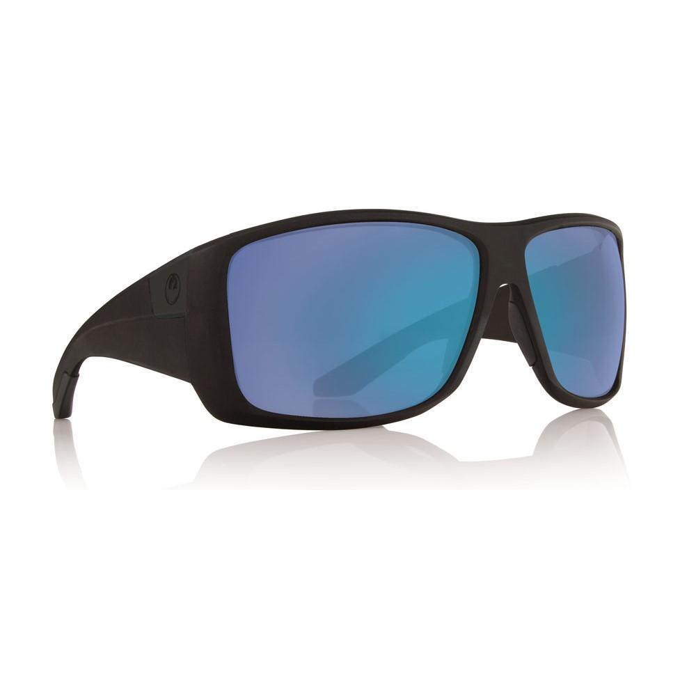 ドラゴン メンズ メガネ・サングラス【Kit Sunglasses】Matte Black/ Blue Ion Performance Polarized Lens