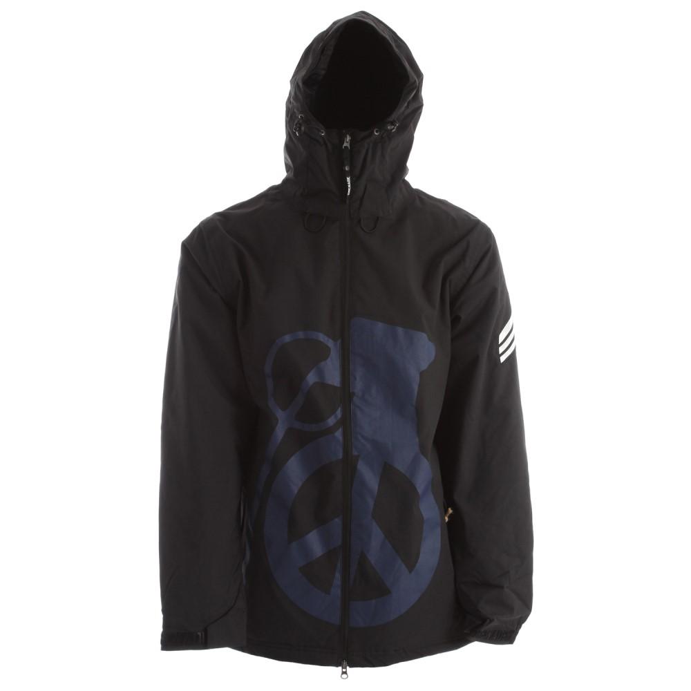 グレネード メンズ スキー・スノーボード アウター【Peace Bomb Snowboard Jacket】Black/ Blue