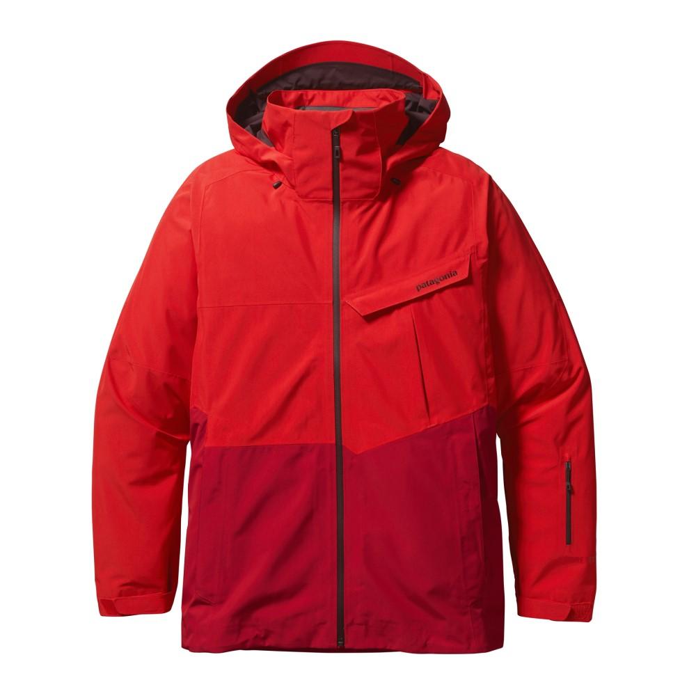 パタゴニア メンズ スキー・スノーボード アウター【Powder Bowl Gore-Tex Ski Jacket】French Red