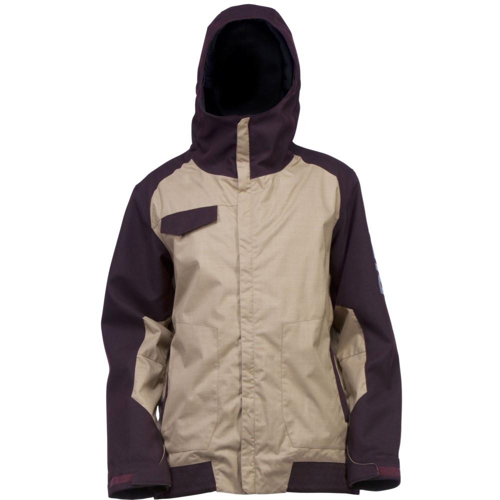 ライド メンズ スキー・スノーボード アウター【Gatewood Snowboard Jacket】Dark Khaki