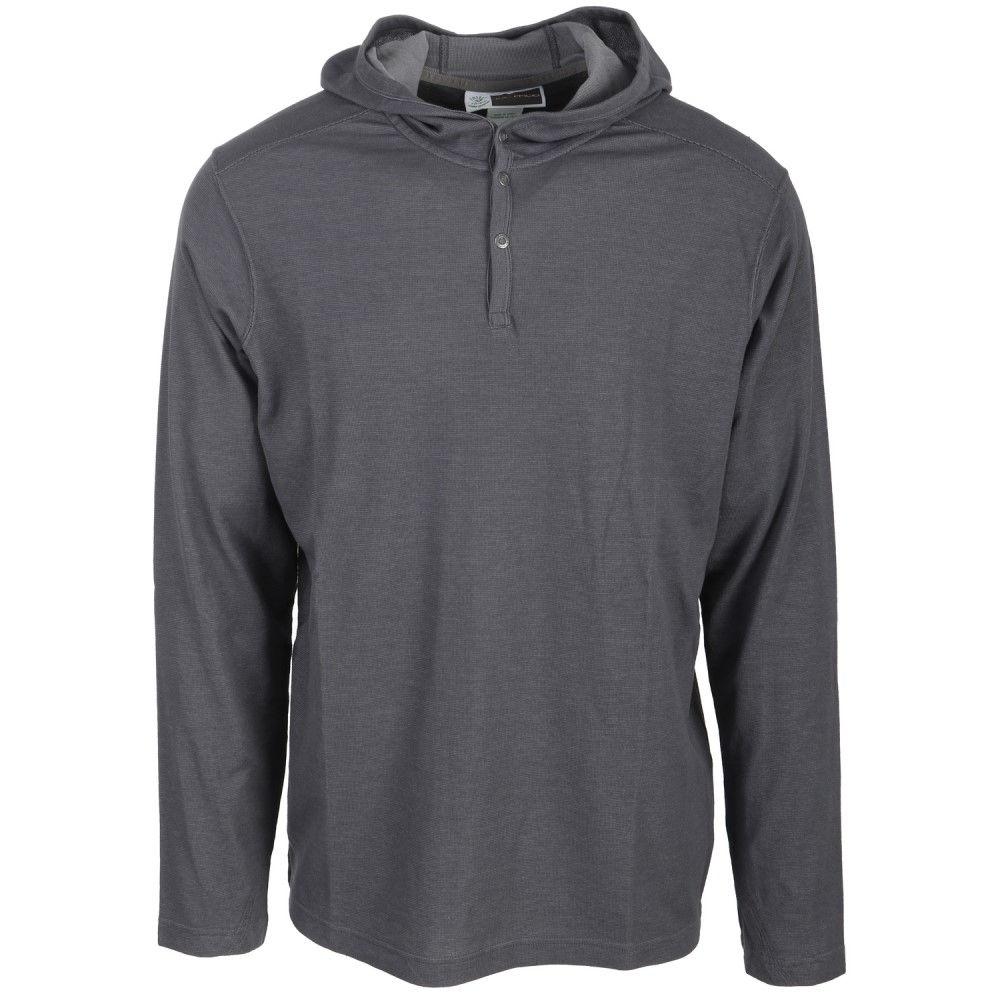 エクスオフィシオ メンズ トップス【BugsAway Lumos Hoody Shirt】Carbon