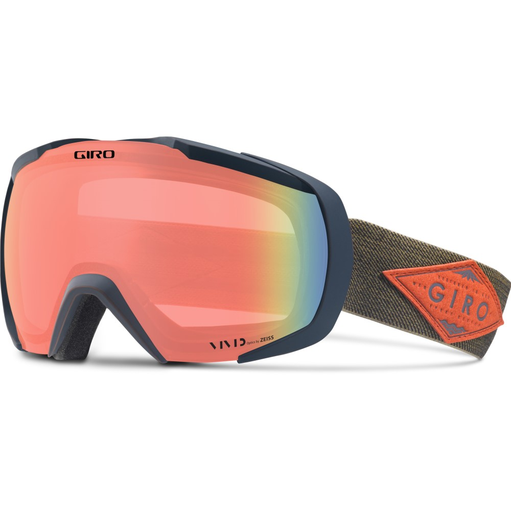 ジロ メンズ スキー・スノーボード ゴーグル【Onset Goggles 2018】Turbulance/ Rust Mountain Division/ Vivid Infrared Lens