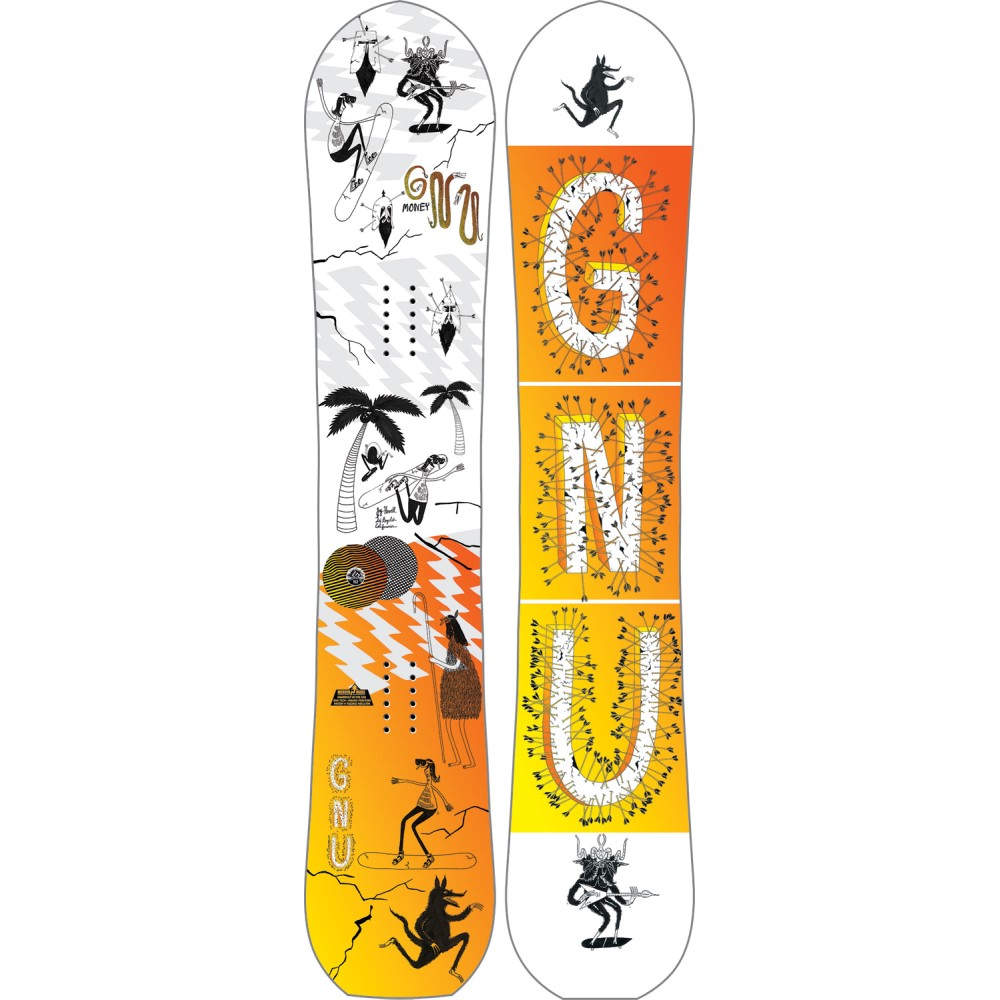 グヌ メンズ スキー・スノーボード ボード・板【Money Snowboard 2018】