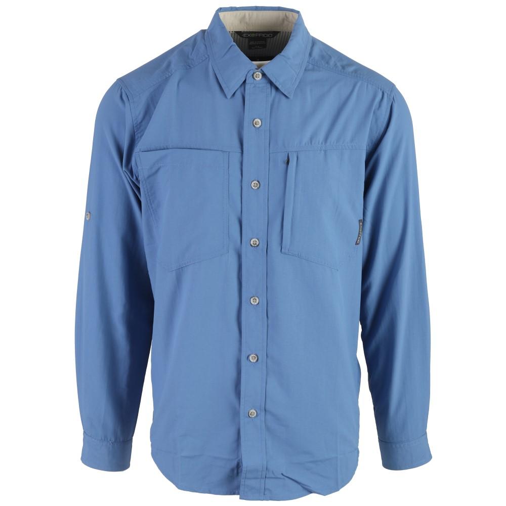 エクスオフィシオ メンズ トップス【Geotrek'r L/S Shirt】Riviera
