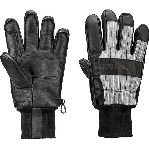 マーモット メンズ スキー・スノーボード グローブ【Lifty Gloves 2018】Black/ Slate Grey