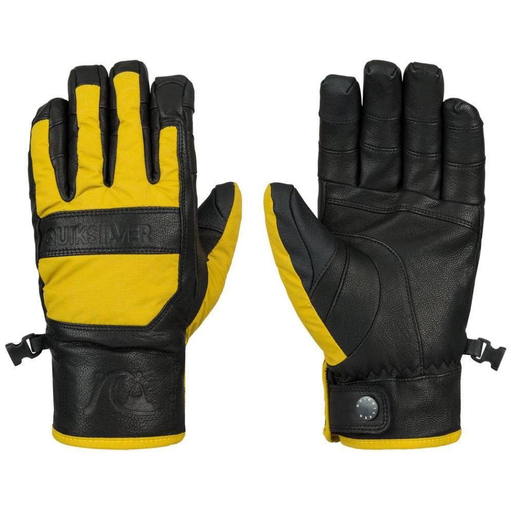 クイックシルバー メンズ スキー・スノーボード グローブ【Wildcat Gloves】Olive Oil