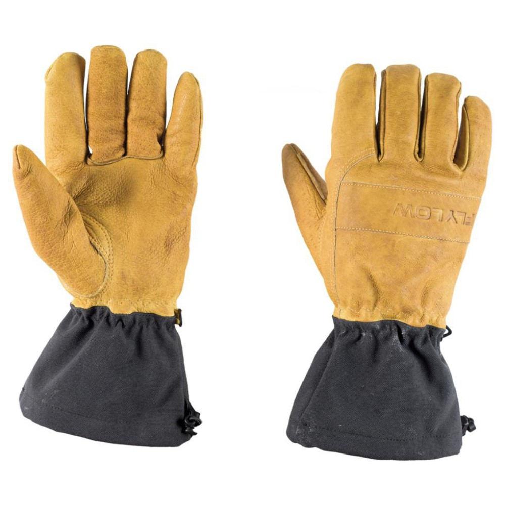 フライロウ メンズ スキー・スノーボード グローブ【Upslope Gloves】Natural/ Black