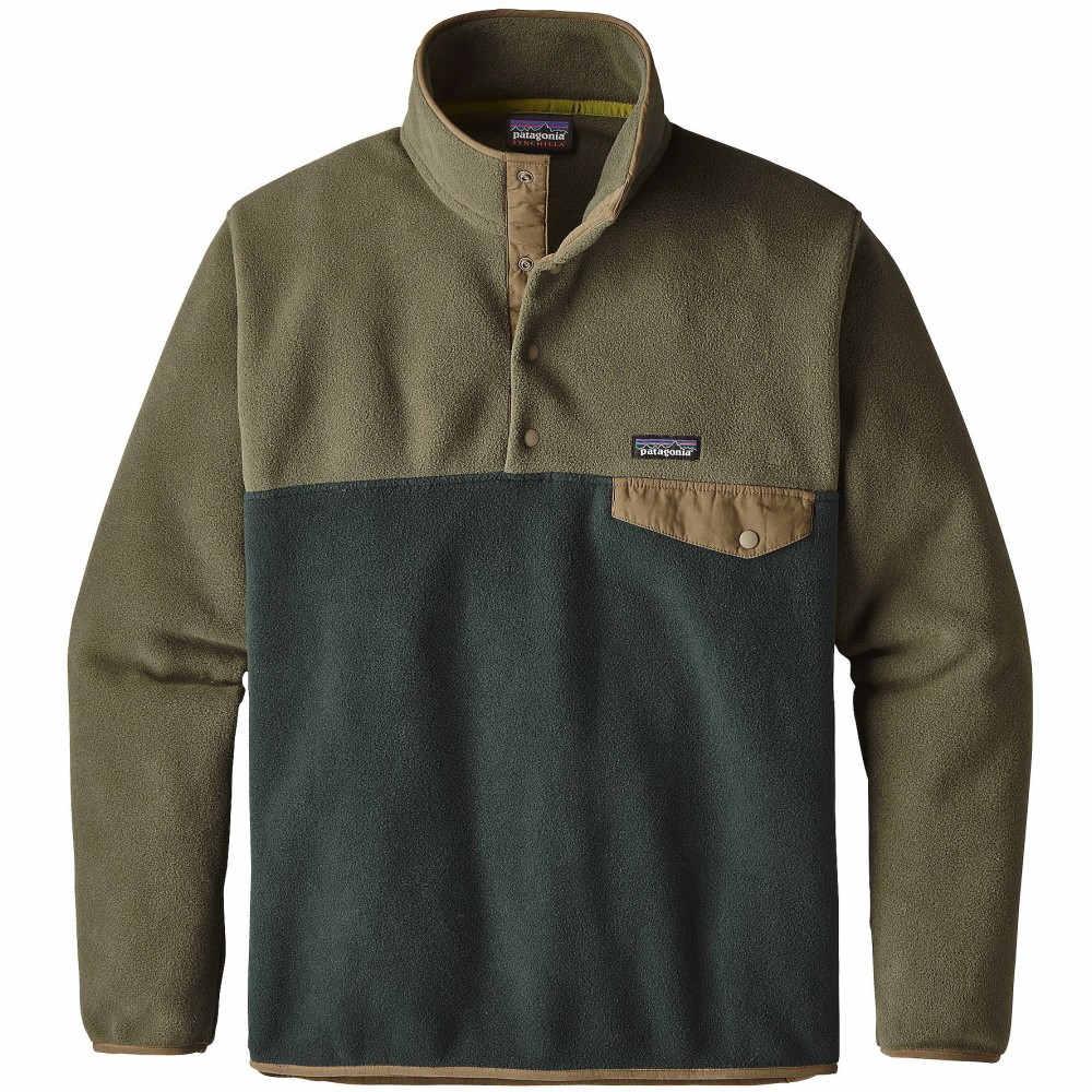 パタゴニア メンズ トップス フリース【Lightweight Synchilla Snap-T Pullover Fleece 2018】Industrial Green