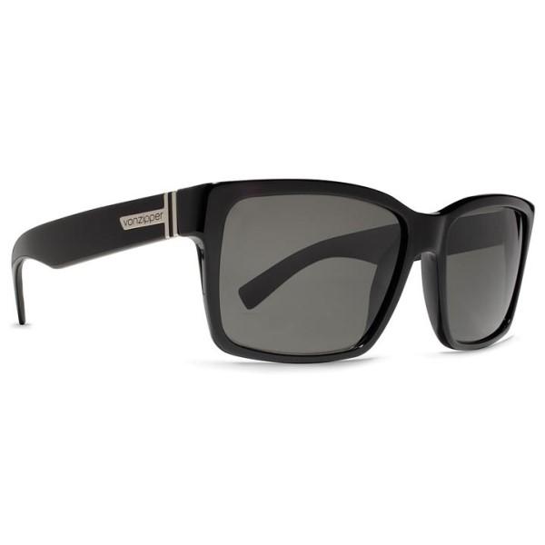 ボンジッパー メンズ メガネ・サングラス【Elmore Sunglasses】Black Gloss/ Vintage Grey Lens
