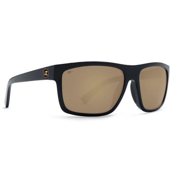 ボンジッパー メンズ メガネ・サングラス【Speedtuck Sunglasses】Black Satin/ Gold Polarized Lens