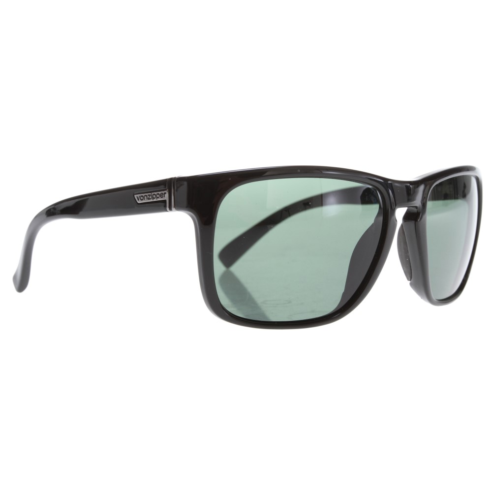 ボンジッパー メンズ メガネ・サングラス【Lomax Sunglasses】Black Gloss/ Vintage Grey Lens