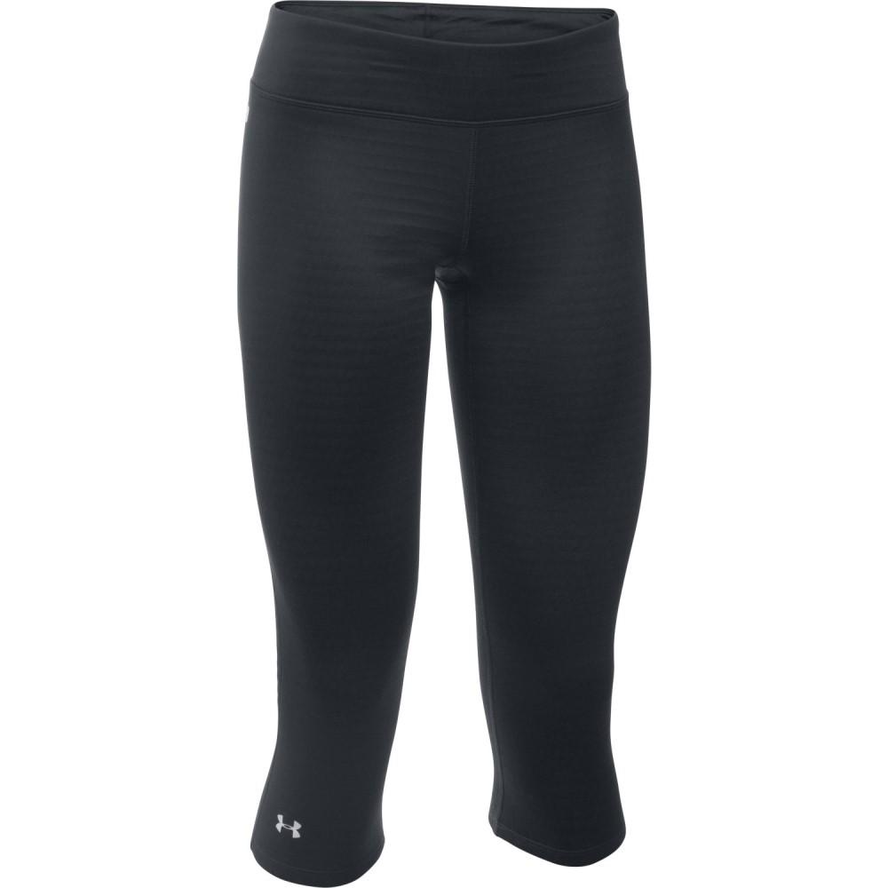 アンダーアーマー レディース スキー・スノーボード ボトムス・パンツ【Base 2.0 3/4 Baselayer Pants】Black/ Glacier Gray