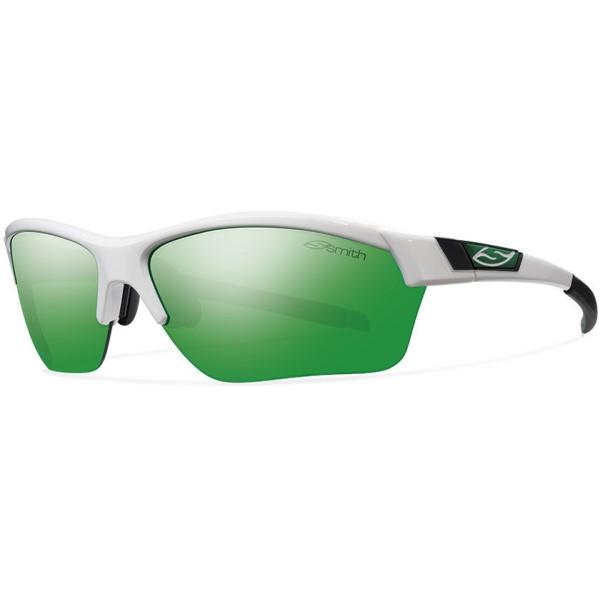 スミス メンズ メガネ・サングラス【Approach Max Sunglasses】White/ Green Sol- X Mirror Lens