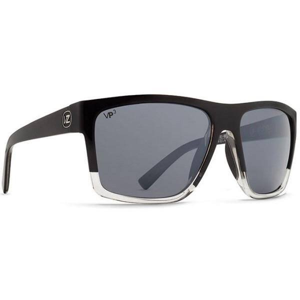 ボンジッパー メンズ メガネ・サングラス【Dipstick Sunglasses】Joel Sig Black/ Silver Polarized Lens