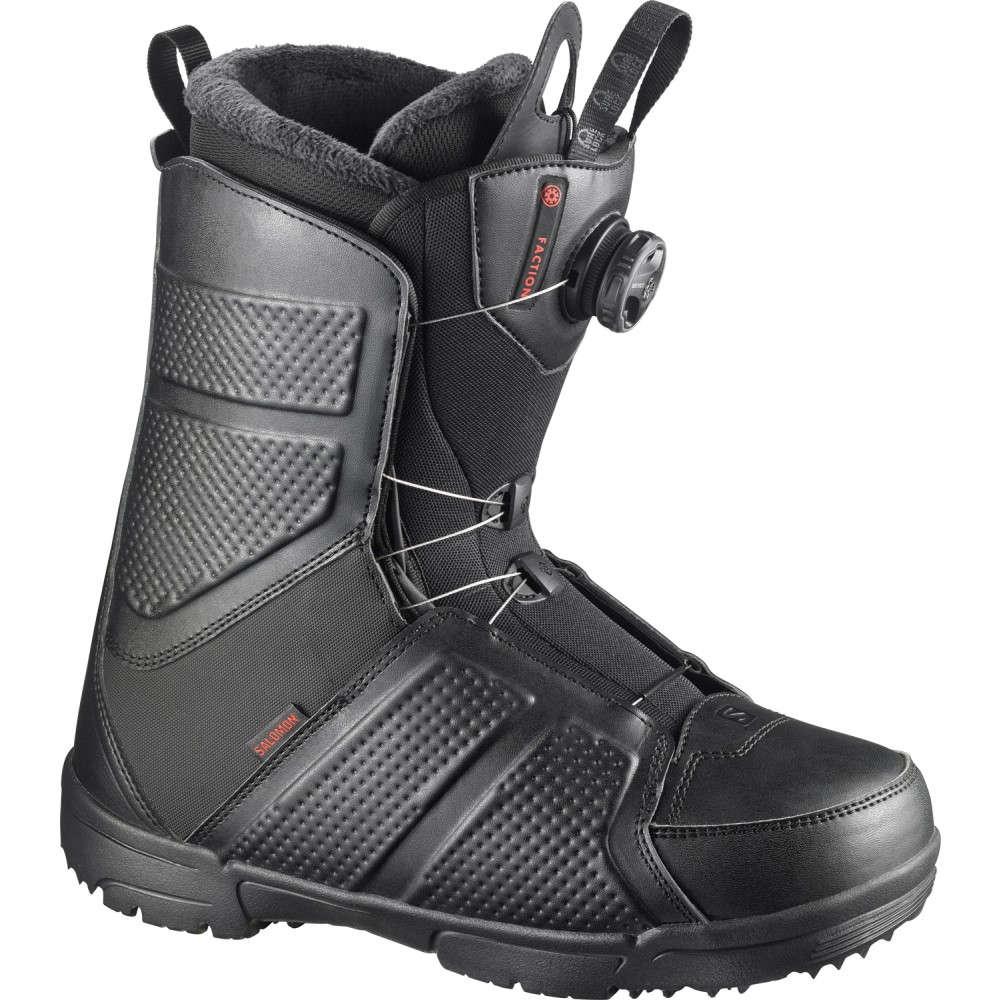 サロモン メンズ スキー・スノーボード シューズ・靴【Faction BOA Snowboard Boots 2018】Black