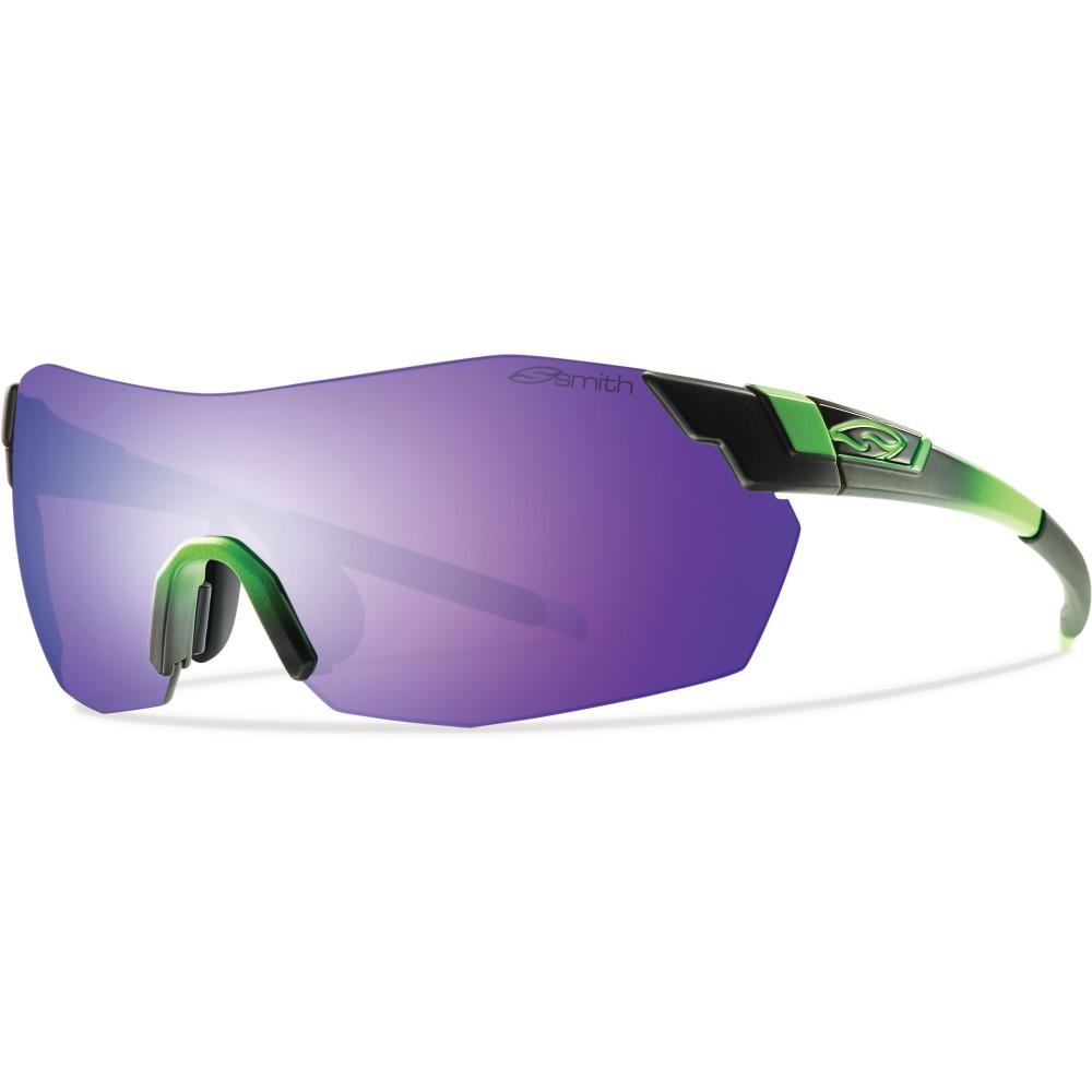 スミス メンズ メガネ・サングラス【Pivlock V2 Max Sunglasses】Reactor Green/ Purple Sol- X Mirror Lens