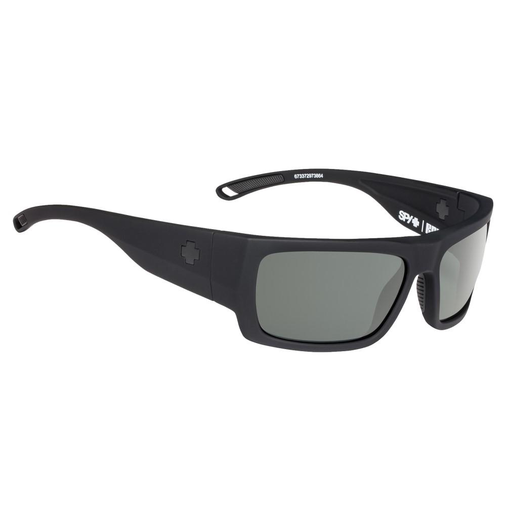 スパイ メンズ メガネ・サングラス【Rover Sunglasses】Soft Matte Black/ Happy Grey Green Polarized Lens