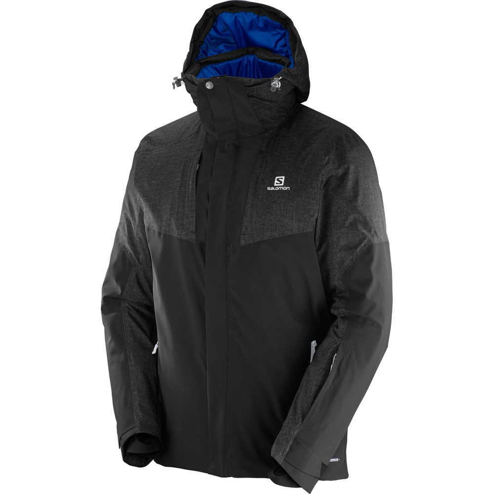 サロモン メンズ スキー・スノーボード アウター【Icerocket Mix Ski Jacket】Black