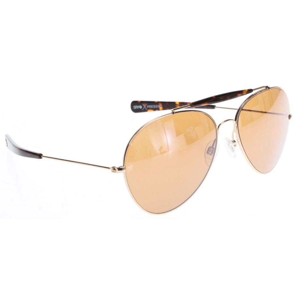 スパイ メンズ メガネ・サングラス【Presidio Sunglasses】Gold/ Umber Lens