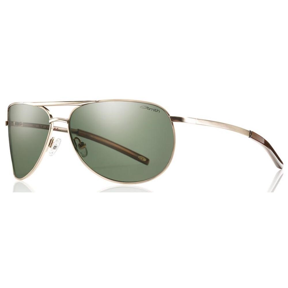スミス メンズ メガネ・サングラス【Serpico Slim Sunglasses】Gold/ Polarized Gray Green Lens