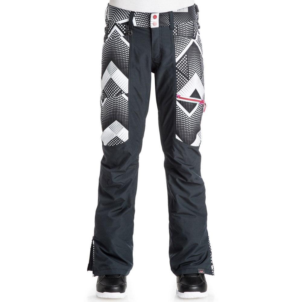 ロキシー レディース スキー・スノーボード ボトムス・パンツ【Cabin Snowboard Pants】Pop Snow Optic Dot/ True Black