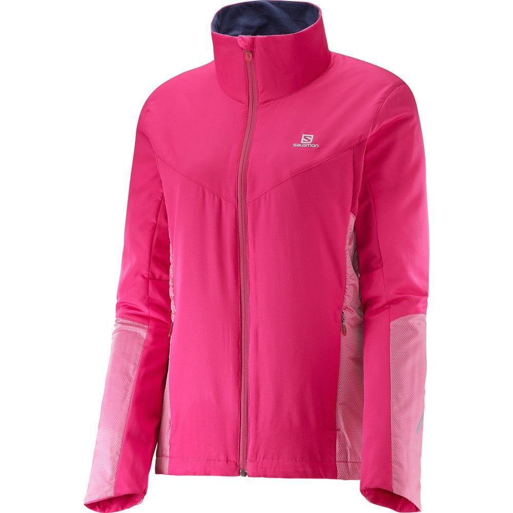 サロモン レディース スキー・スノーボード アウター【Escape XC Ski Jacket】Yarrow Pink/ Gaura Pink