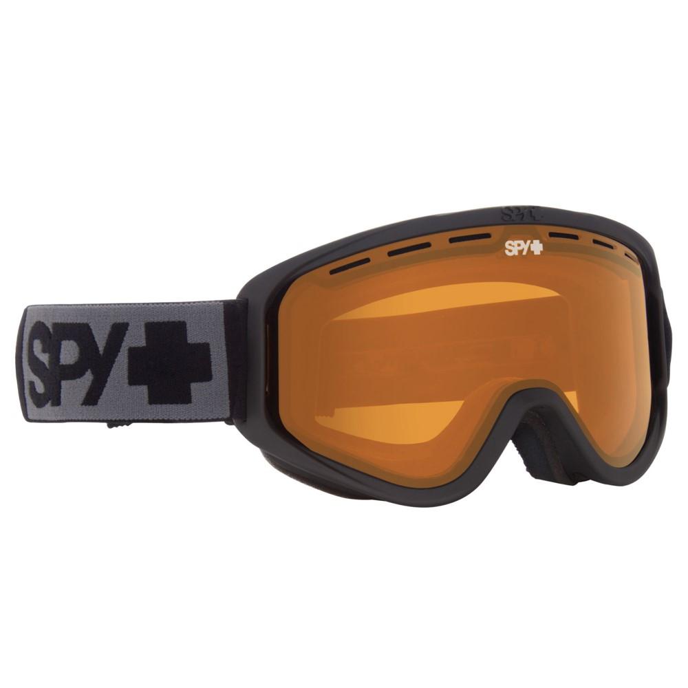 スパイ メンズ スキー・スノーボード ゴーグル【Woot Goggles 2018】Matte Black/ Persimmon Lens