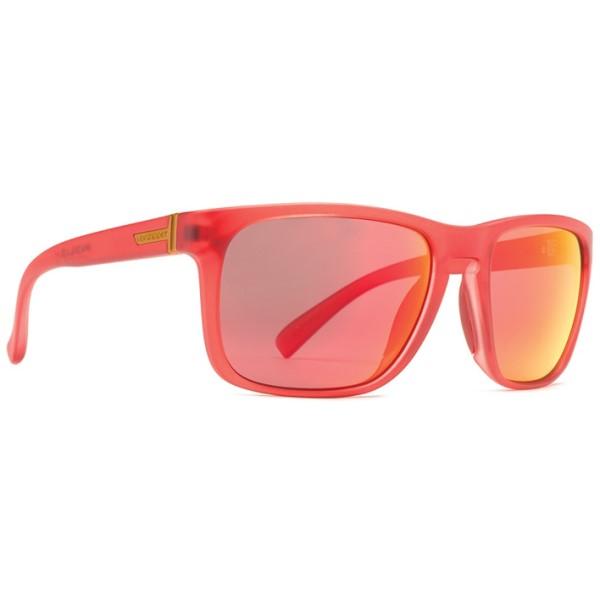 ボンジッパー メンズ メガネ・サングラス【Lomax Sunglasses】Red/ Lunar Glo Lens
