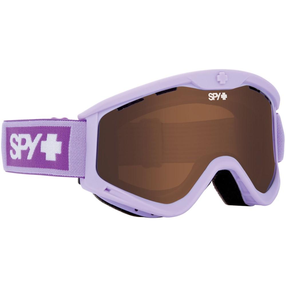 スパイ レディース スキー・スノーボード ゴーグル【T3 Goggles】Elemental Lavender/ Bronze Silver Mirror And Persimmon Lens