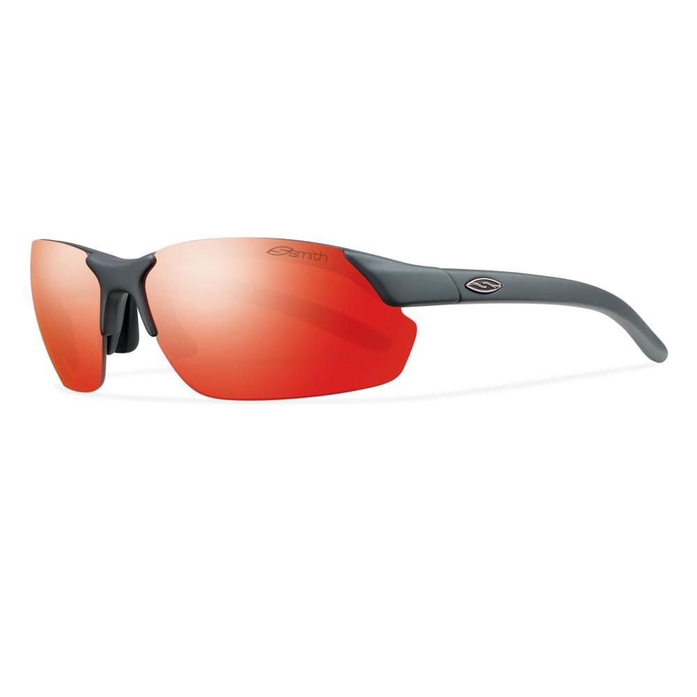 スミス メンズ メガネ・サングラス【Parallel Max Sunglasses】Matte Cement/ Red Sol- X Mirror And Ignitor Mirror Lens