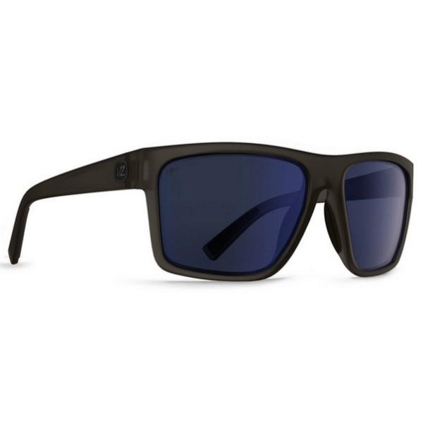 ボンジッパー メンズ メガネ・サングラス【Dipstick Sunglasses】Charcoal Satin/ Poly Polarized Lens