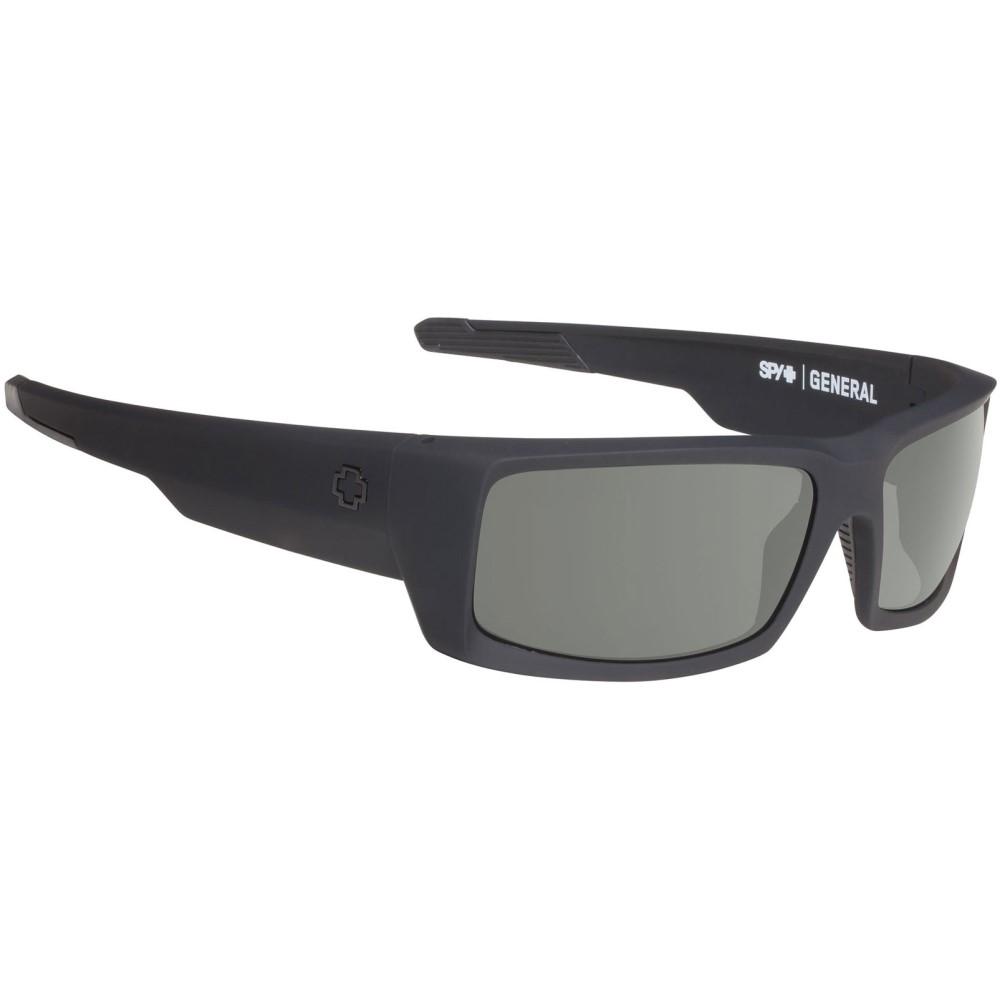 スパイ メンズ メガネ・サングラス【General Sunglasses】Soft Matte Black/ Happy Grey Green Lens