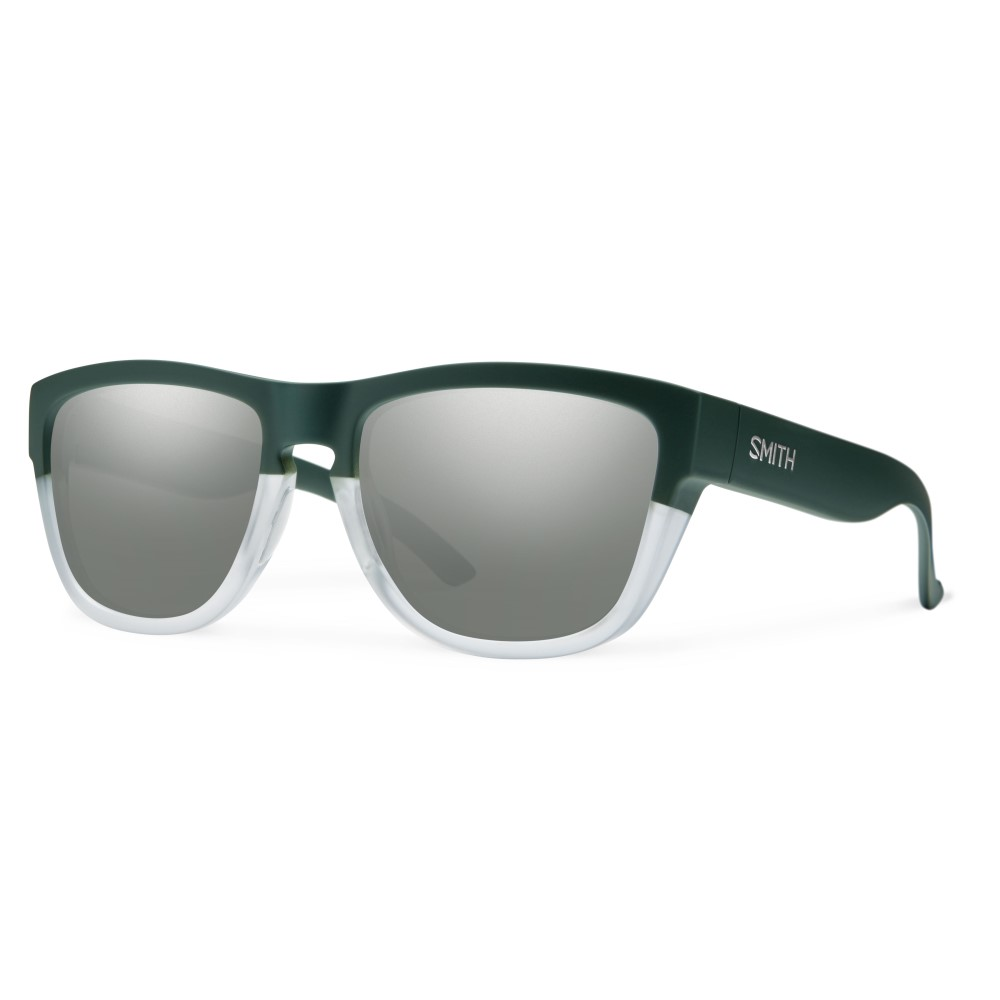 スミス メンズ メガネ・サングラス【Clark Sunglasses】Matte Olive Crystal/ Super Platinum Lens