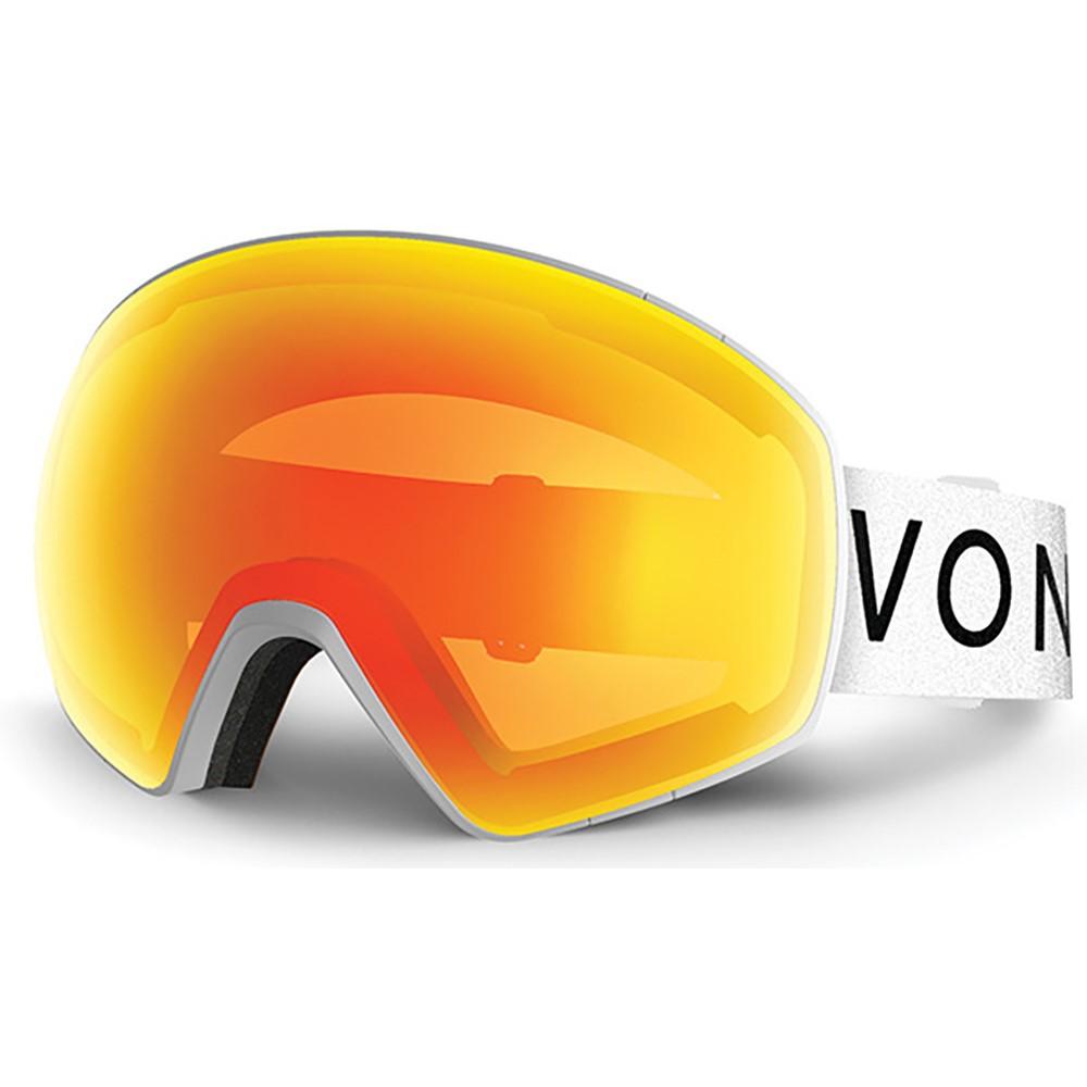 2019年新作 ボンジッパー Yellow メンズ And スキー・スノーボード Lens ゴーグル【Jetpack Goggles 2018】White Satin/ Fire Chrome And Yellow Lens, クリモ:177f8907 --- canoncity.azurewebsites.net