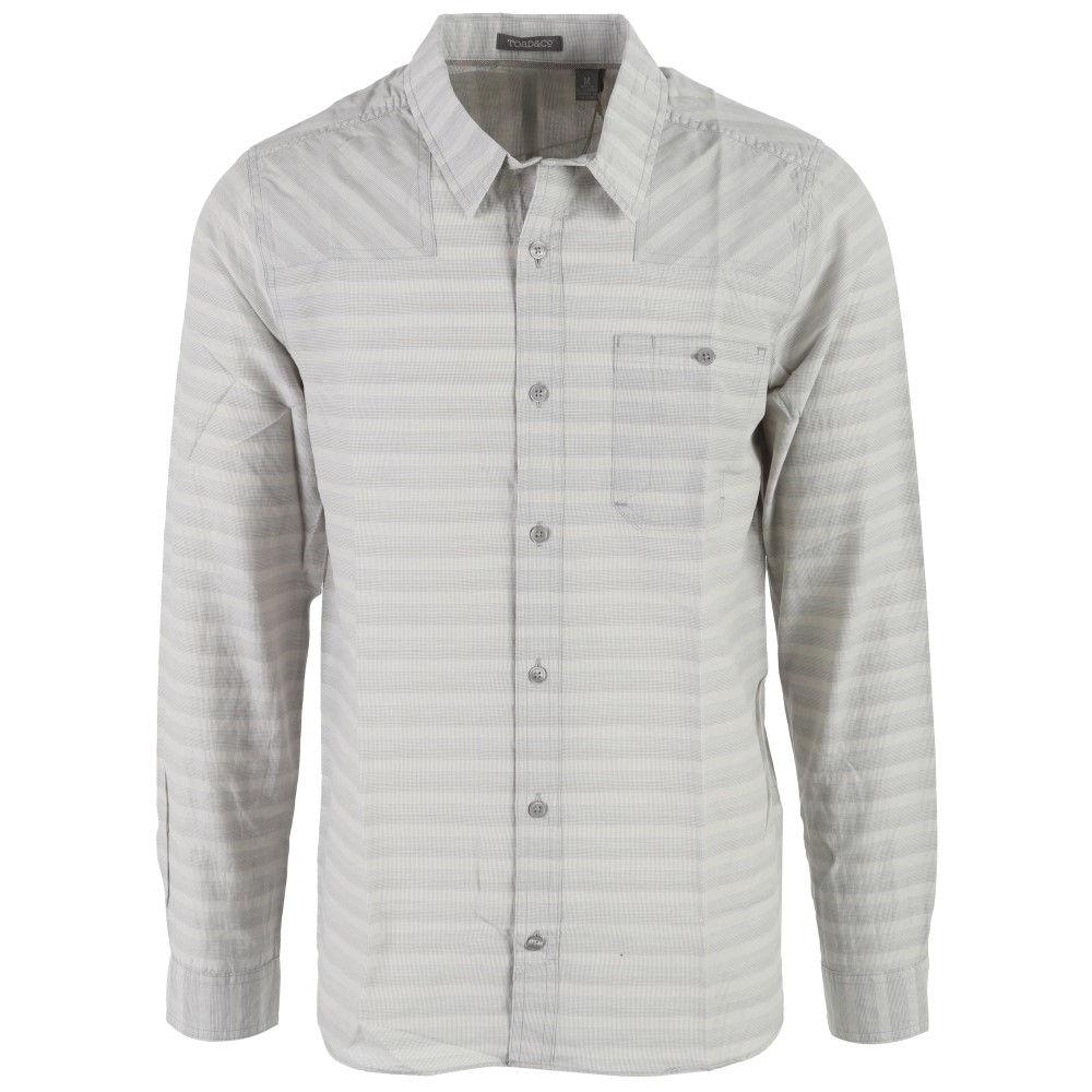 トードアンドコー メンズ トップス シャツ【Wonderer L/S Shirt】Light Ash